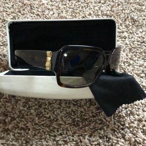 Versace Venitas Bow Tortoise Shell Sunglasses